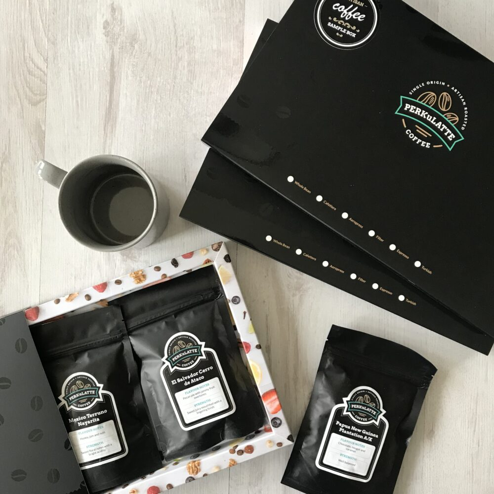Three month coffee sample subscription